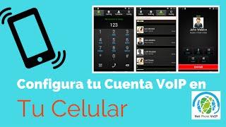 Instalar softphone en tu celular Android - Zoiper