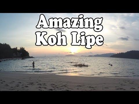 Koh Lipe Thailand 2017, Part 3. 2 Days on Koh Lipe  เกาะหลีเป๊ะ สตูล