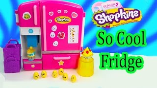 Shopkins Season 2 So Cool Fridge Refrigerator Toy Playset Exclusives Mini Baby Eggs Review