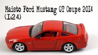 Розпакування Maisto Ford Mustang GT Coupe 2005 (1:24)