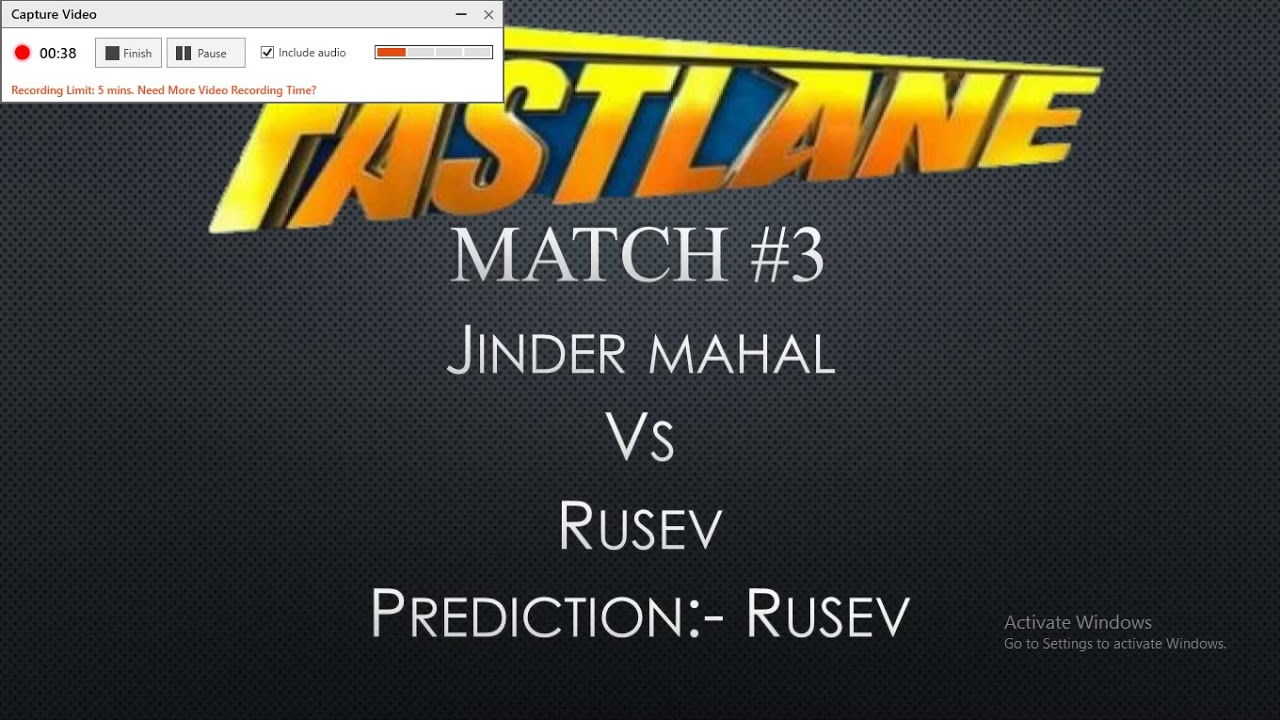WWE Fastlane Predictions