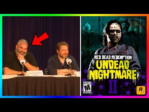 Red Dead Redemption 2 DLC - NEW INFO! Arthur And Dutch Discuss Story Mode, Undead Nightmare & MORE!