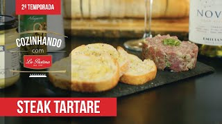 Receita Steak Tartare  - Chef Bru Calderon