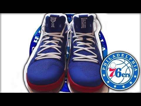 NIKE SENT ME EXCLUSIVE SIXERS KYRIE 3's *Trust The Process* [feat. MIXTAPE]