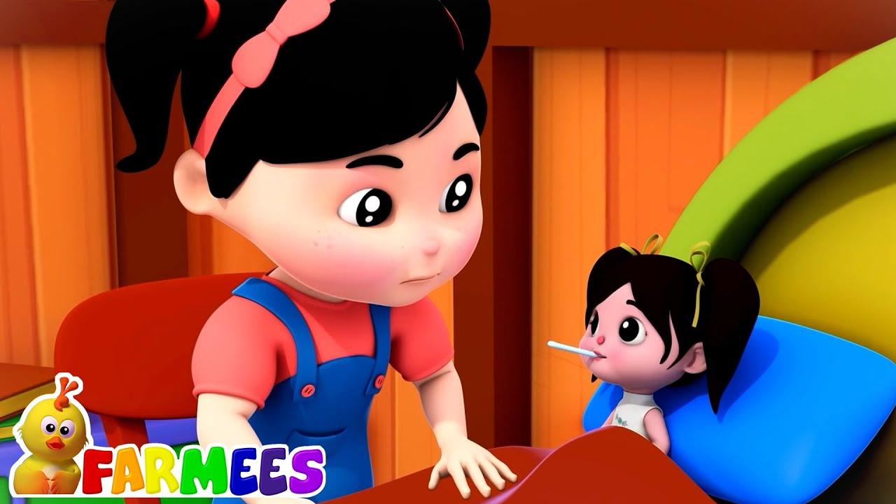 Miss polly punya boneka | Video edukasi anak | Puisi untuk anak | Farmees Indonesia | Bayi sajak