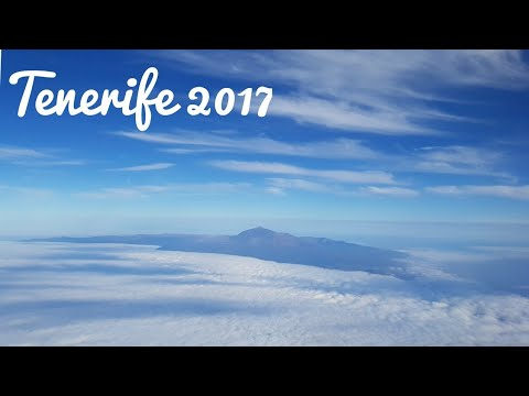 Landing in Tenerife South Airport 2017