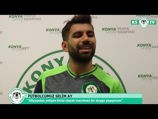 """Selim Ay """"Konya olarak maça iyi hazırlanmanın mükafatını aldık"""""""