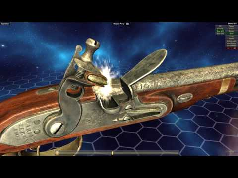 How Flintlock Firearms Work