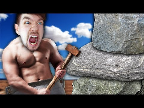 ANGRIEST IVE GOTTEN AT A GAME!! | Getting Over It #1