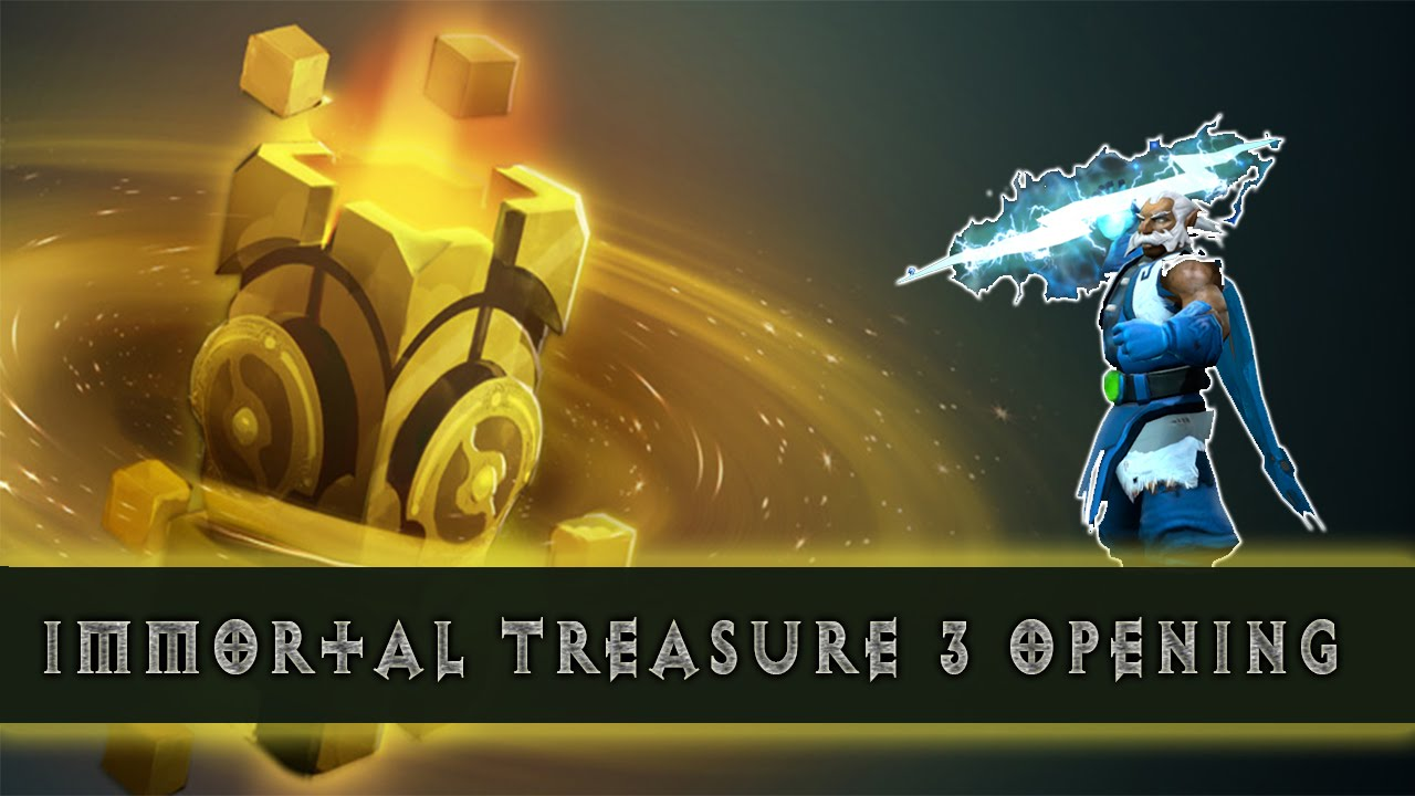 Dota 2 S Immortal Treasure 3 Launches: Dota 2 Chest Opening: Immortal Treasure III