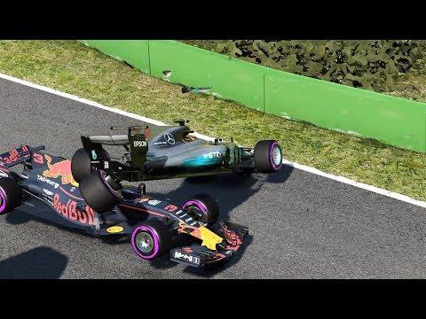 De último al podio (a mi manera xD) F1 2017 Spa - Hamilton