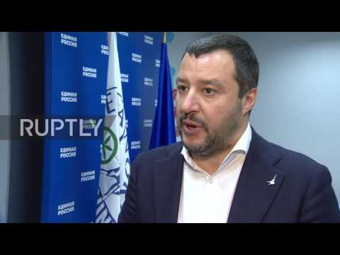 Russia: Salvini signs cooperation agreement between Lega Nord and United Russia