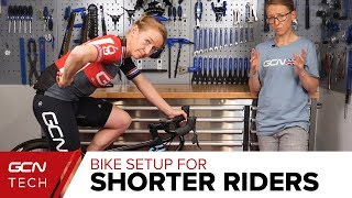 Bike Setup Tips For Smaller Cyclists | Emma's Bike Fit Guide