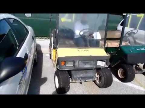 GovDeals 31 1180 1997 E Z GO Golf Cart Model XT500 WASD