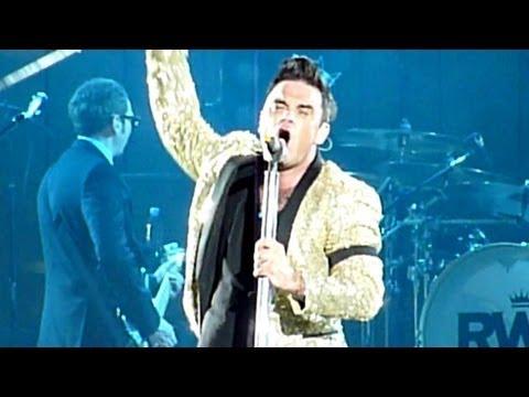 Robbie Williams - Rudebox [Short] & Rock DJ (Live - Etihad Stadium, Manchester UK, June 2013)