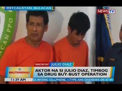 Aktor na si Julio Diaz, timbog sa drug buy-bust operation