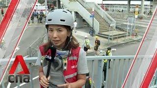 Hong Kong protests: Demonstrators hit the streets on China's National Day