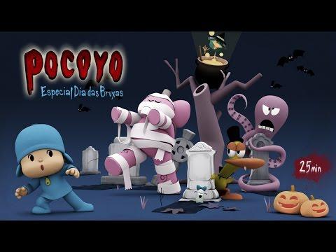 Pocoyo - Dia das Bruxas: 25 minutos de diversão terrífica! | HALLOWEEN Vídeos De Viagens