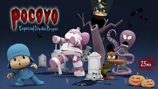 Pocoyo - Dia das Bruxas: 25 minutos de diversão! | HALLOWEEN