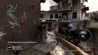COD4 : Vidéo commentée Domination Feux-Croisés 54-16 [HD] Partie 1