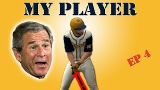 MLB 2K12 My Player - George Bush Watches Me at Night [EP 4]