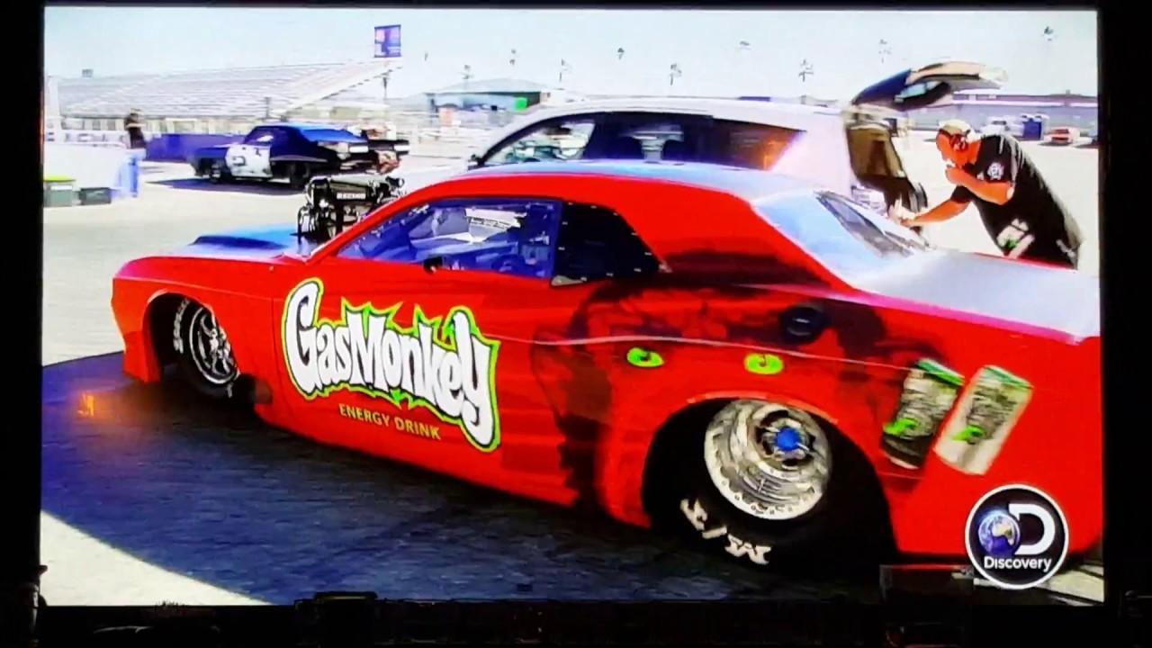 Street Outlaws VS Gas Monkey second race! Mega Race