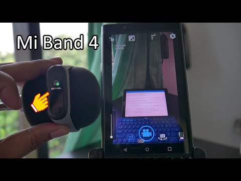 How to Use Camera Shutter on Mi Band 4