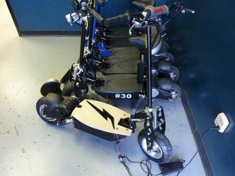 1500 Watt Lithium Brushless Scooter Part 1