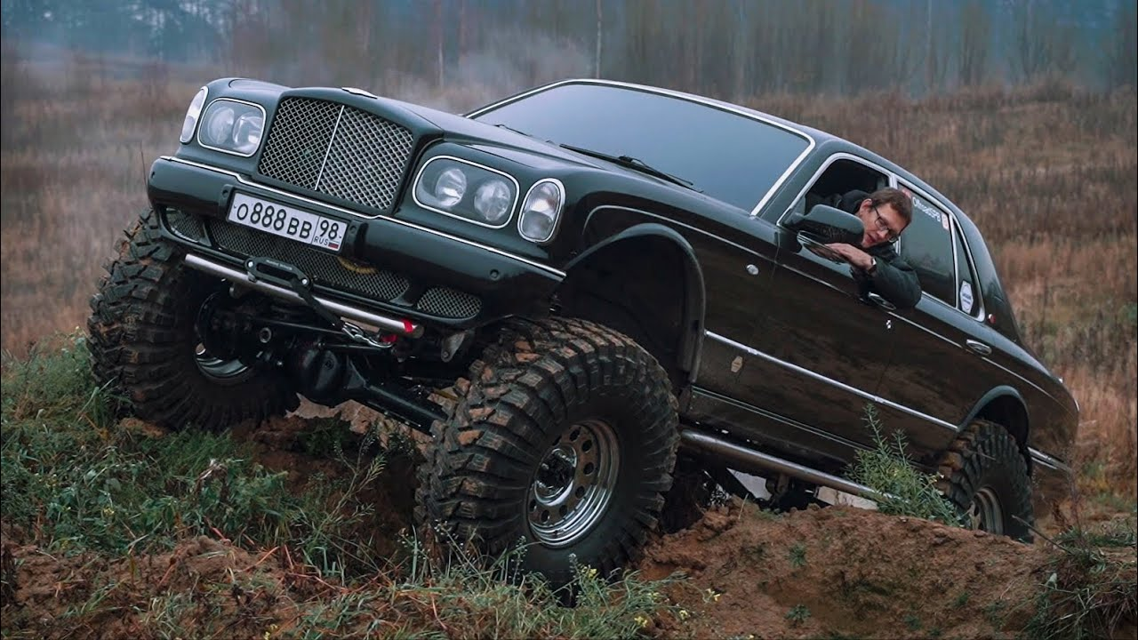 Bentley for Russian roads. Creating a monster.