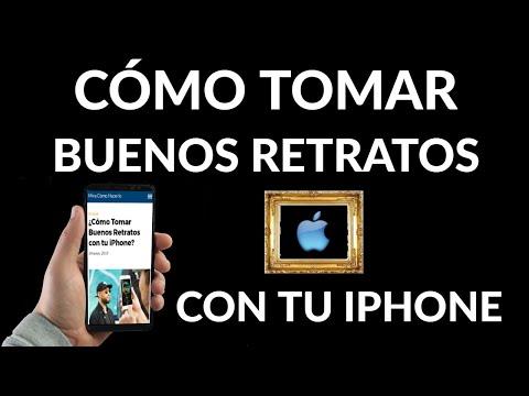 Cómo Hacer Buenos Retratos con tu iPhone