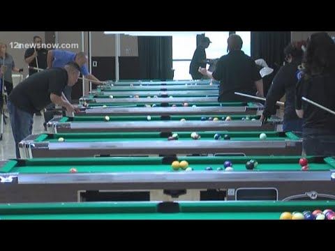 More than 400 people compete in in pool tournament Port Arthur