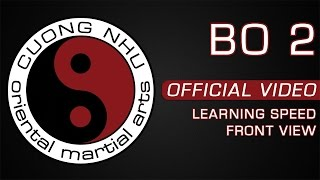 Cuong Nhu Bo 2 - Official Kata - Learning Speed - Front View