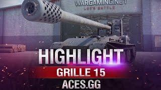 Я его слепила из того, что было! Grille 15 в игре World of Tanks