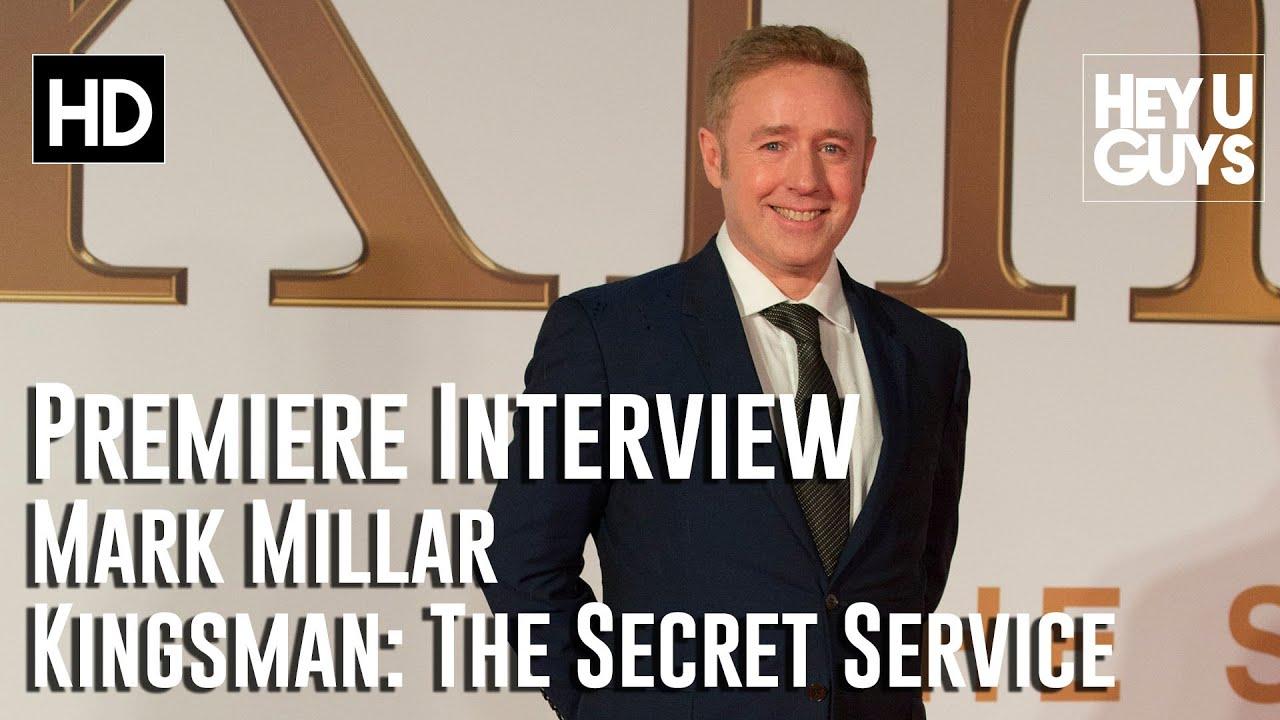 Kingsman The Secret Service Interview: Comic Book Author Mark Millar Interview