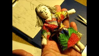 Шьем куклу своими руками для начинающих
