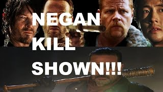 The Walking Dead Season 7 - NEGAN KILL SHOWN - YOUR FACTS!!!