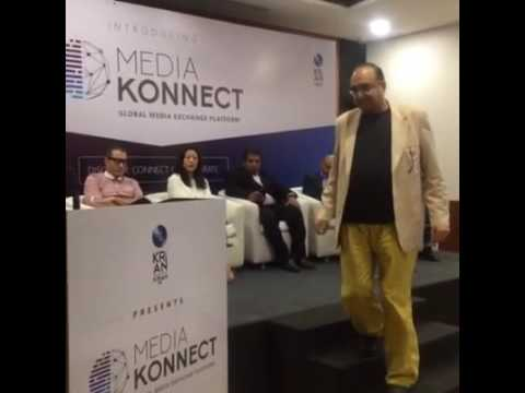 Vivek Vaswani at Media Konnect at Mumbai launch