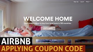 Gambar cover Applying a coupon code at Airbnb: UPDATED 2015