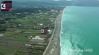 Hatay Samandağ Çevlik Sahili Havadan Görüntüleri