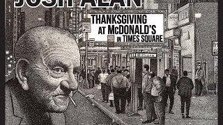"""Thanksgiving at McDonald's in Times Square"" - Josh Alan"