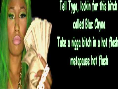 Nicki Minaj I Luv Dem Strippers Lyrics