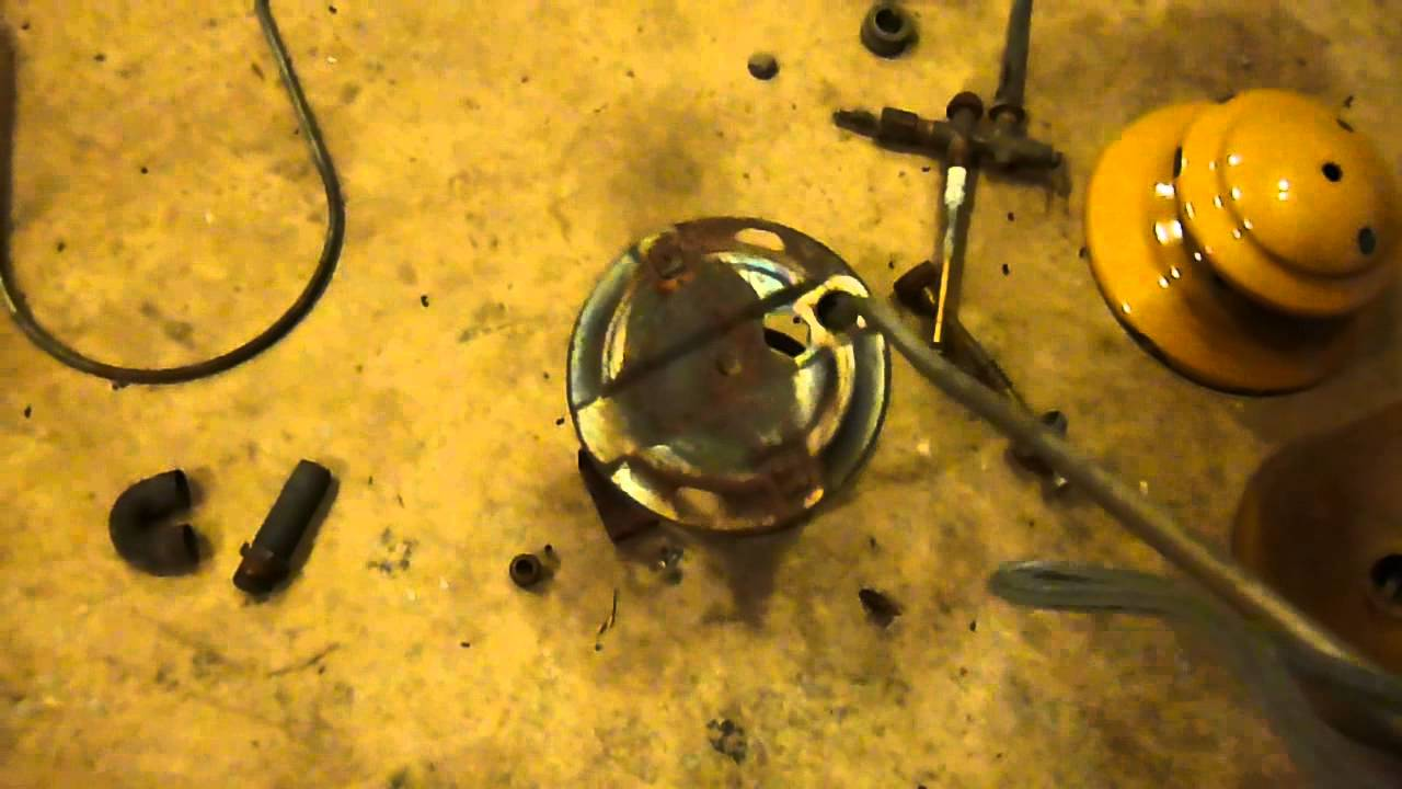 How to Fix Clean Repair Restore Coleman lantern Flaming up Not burning  right Air tube