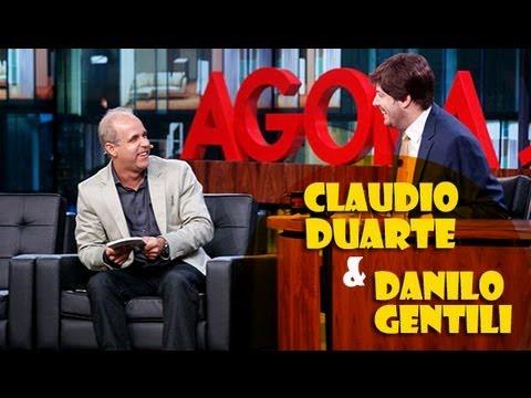 PR. CLAUDIO DUARTE NO AGORA E TARDE COM DANILO GENTILI