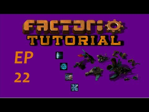 EP22 Making Construction And Logistic Robots - Factorio -Tutorial - Let's Play
