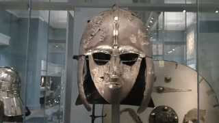 Sutton Hoo helmet Anglo-Saxon 6/7th century British Museum London