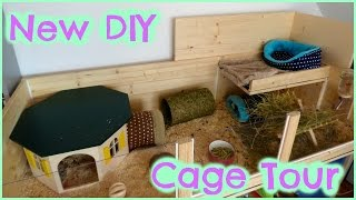 Diy Cage Tour Of My Mum's Guinea Pig Cage