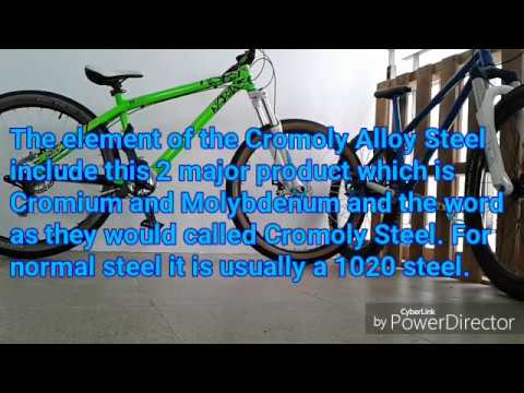 The Truth About Bicycle Frame Aluminium 6061 T6 Or Cromoly Steel? MTB#Jump  Bike#BMX