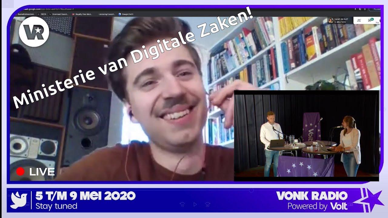 YouTube: Volt presenteert: Ministerie van Digitale Zaken I Vonk Radio