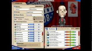 Lets Play The Political Machine 2008 Part 1