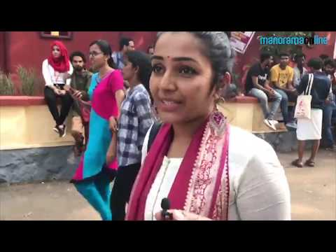 Rajisha Vijayan at the venue of IFFK 2017